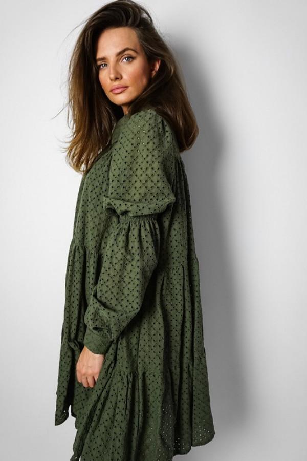 Sukienka FANCY Khaki 1