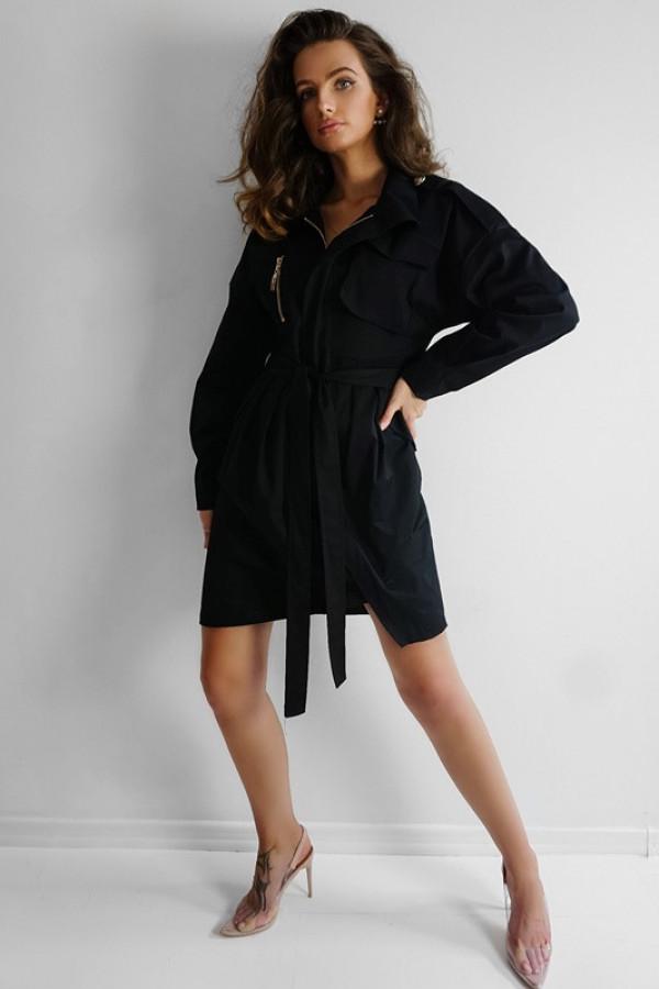 Płaszcz MODERN Black