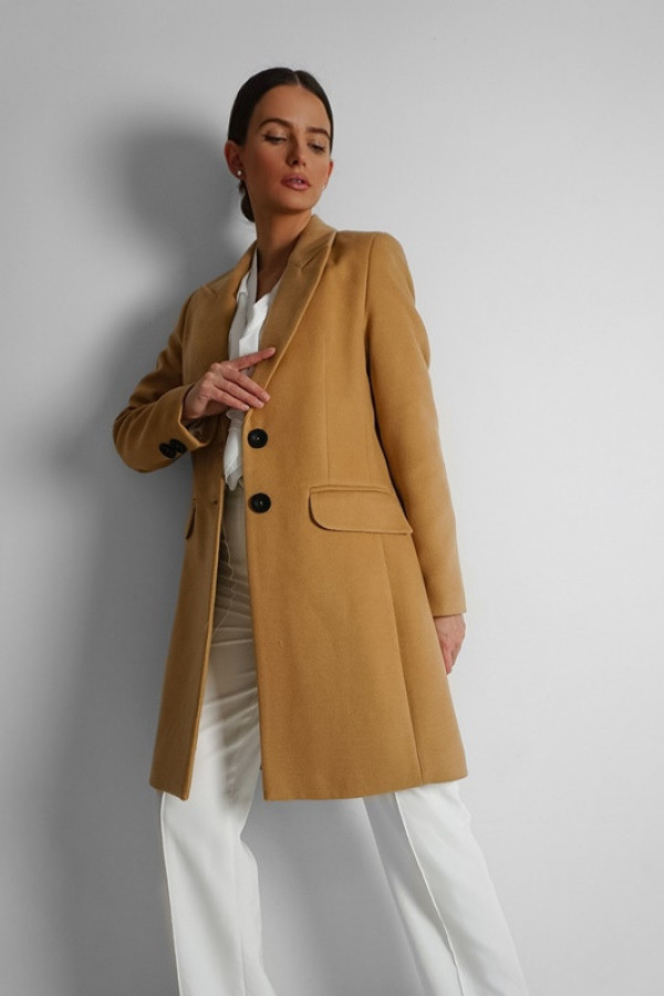 Płaszcz EVA Karmel