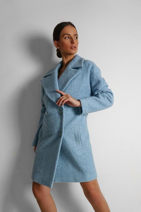 Płaszcz BUKLA Blue