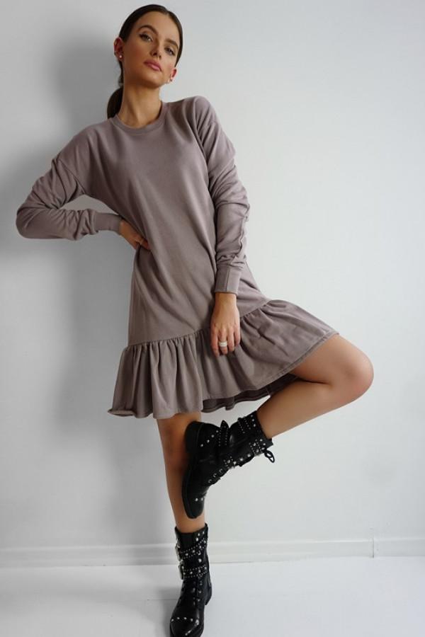 Sukienka CHELSEA Mocca