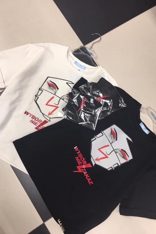 T-shirt WYBÓR NIE ZAKAZ White
