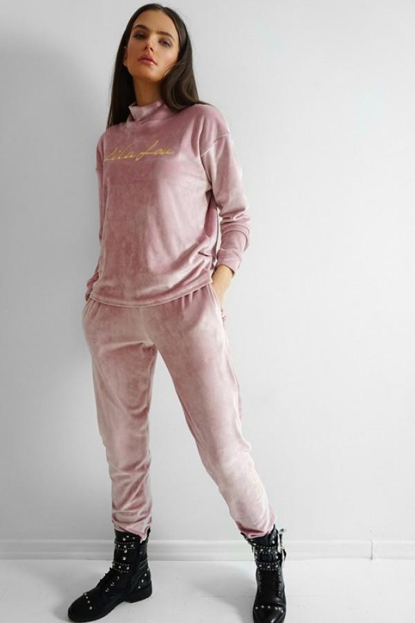 Dres Welur Pink
