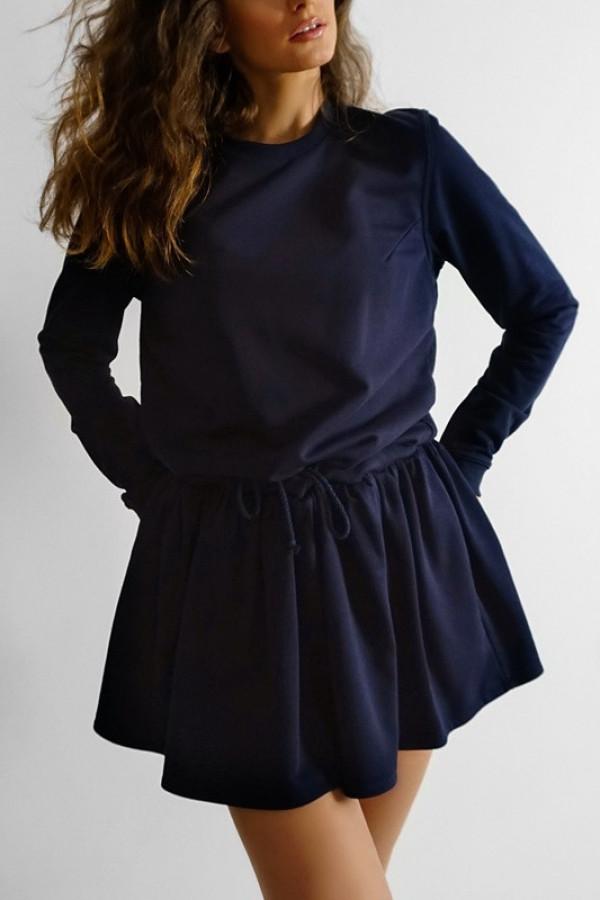 Sukienka MANCHESTER Navy Blue