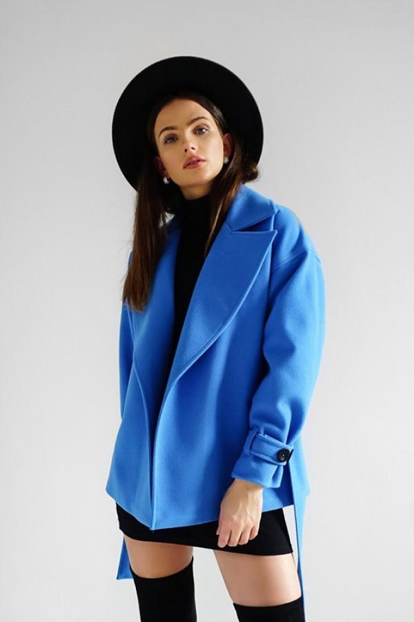 Płaszcz CITY Blue
