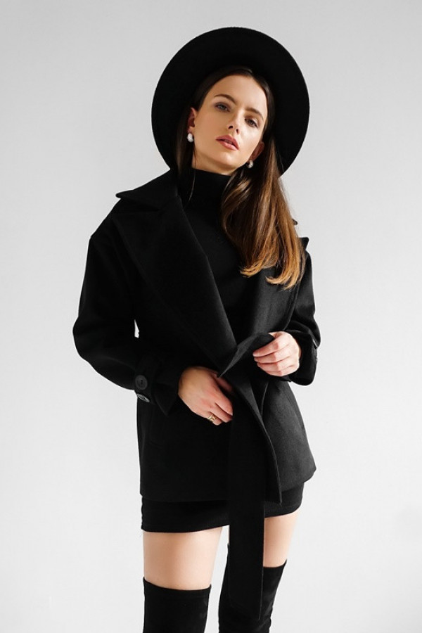 Płaszcz CITY Black