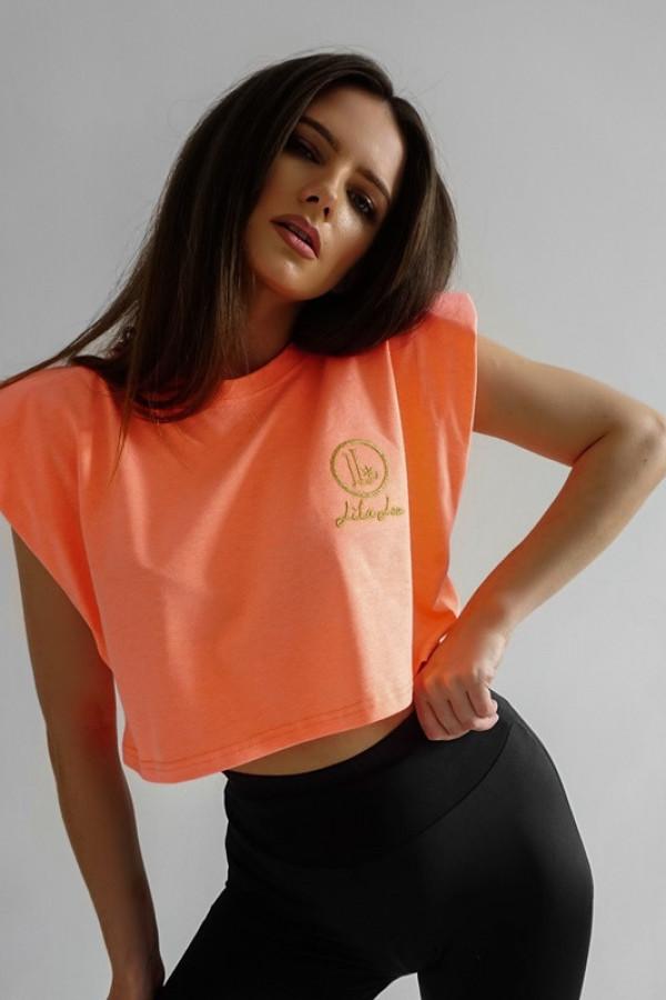 Bluzka Neon Pomarańczowy