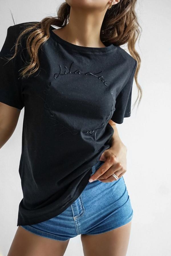 T-shirt LILALOU black