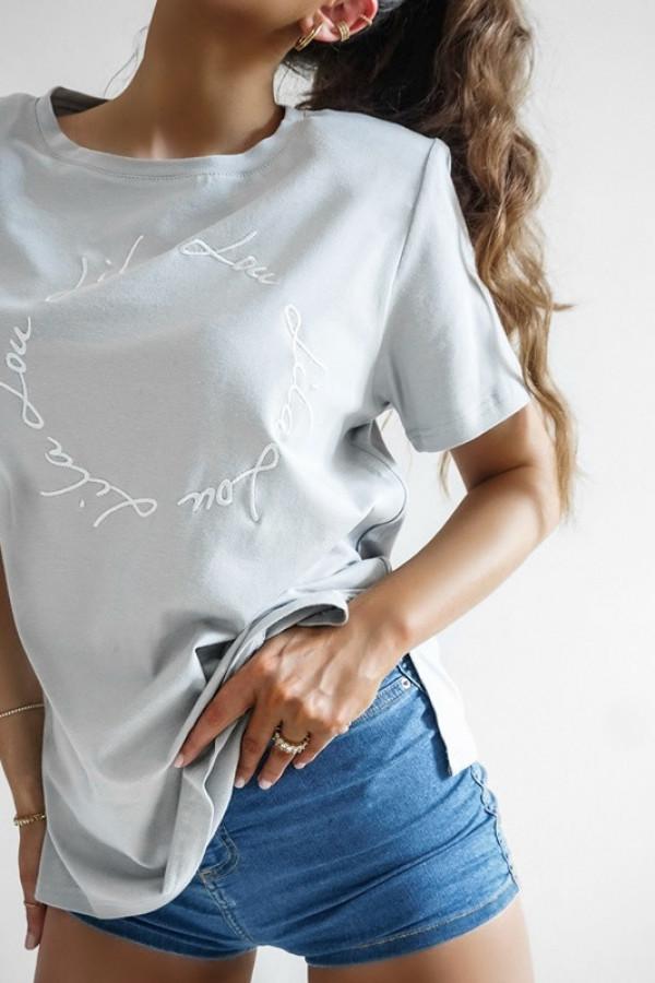T-shirt LILALOU grey