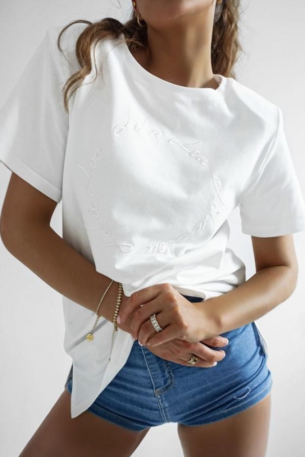 T-shirt LILALOU white