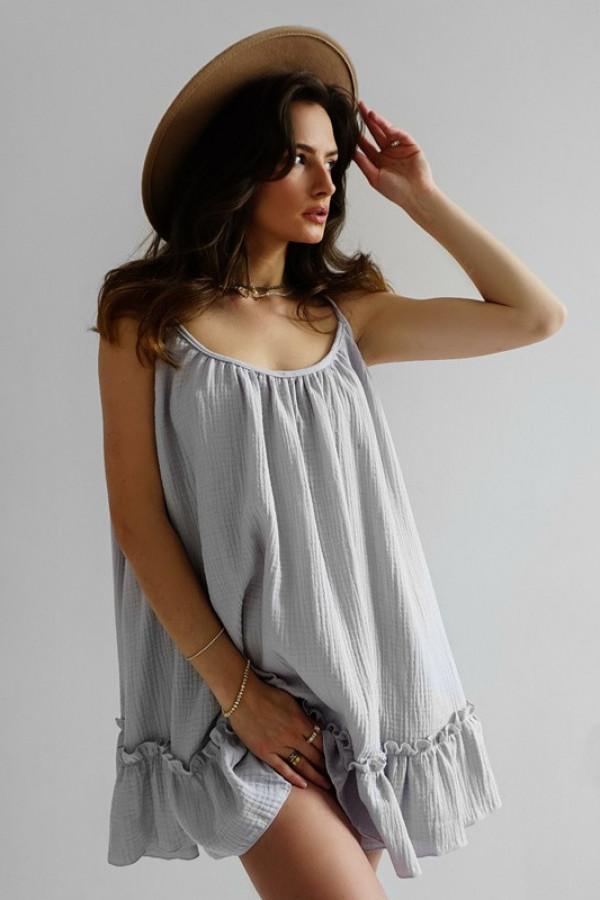 Sukienka LITTLE GYPSY grey 1