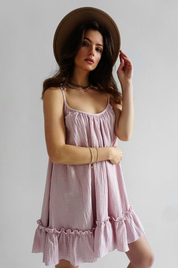 Sukienka LITTLE GYPSY pink 1