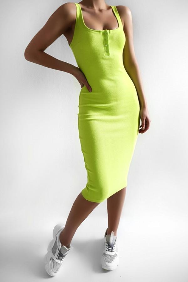Sukienka LENA limonka