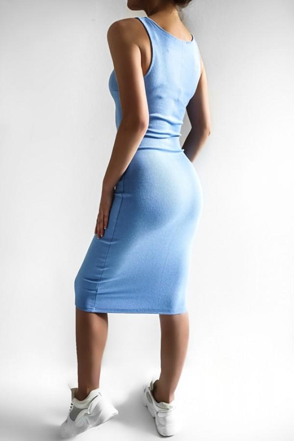 Sukienka LENA blue 2