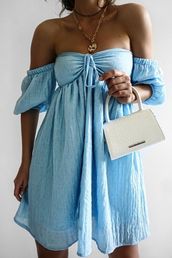 Sukienka MERIDA blue