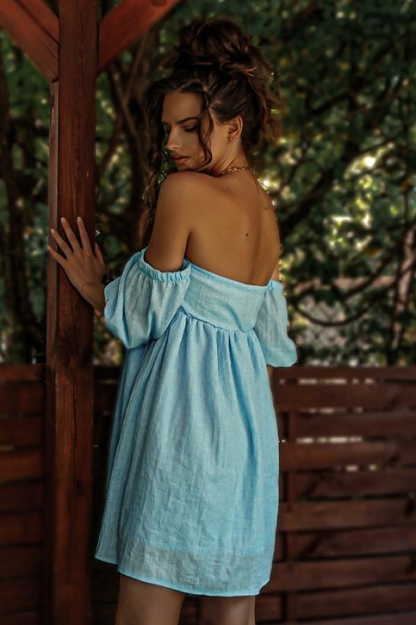 Sukienka MERIDA blue 1