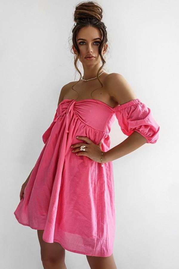 Sukienka MERIDA pink 1