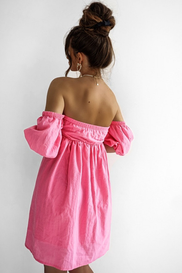 Sukienka MERIDA pink 2