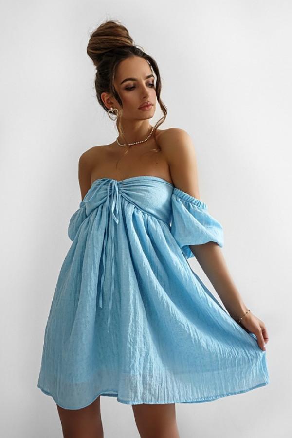 Sukienka MERIDA blue 3