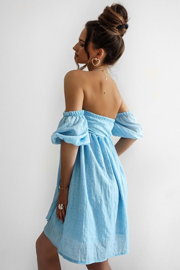 Sukienka MERIDA blue 4