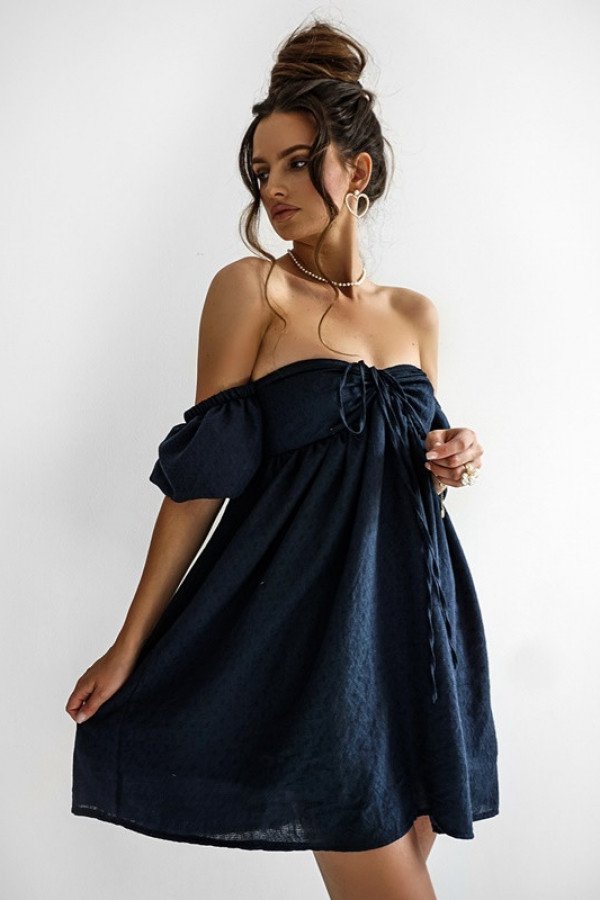 Sukienka MERIDA granat 2