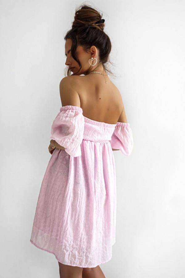 Sukienka MERIDA light pink 3
