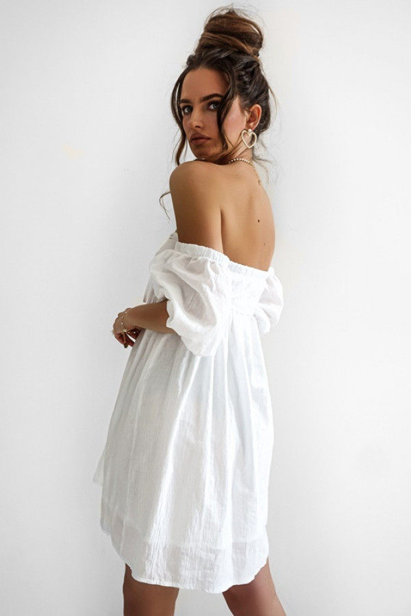 Sukienka MERIDA white 3