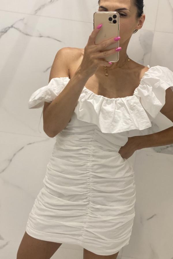 Sukienka LETA off white