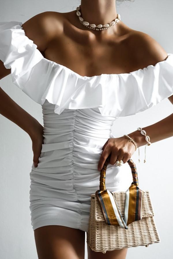 Sukienka LETA off white 1