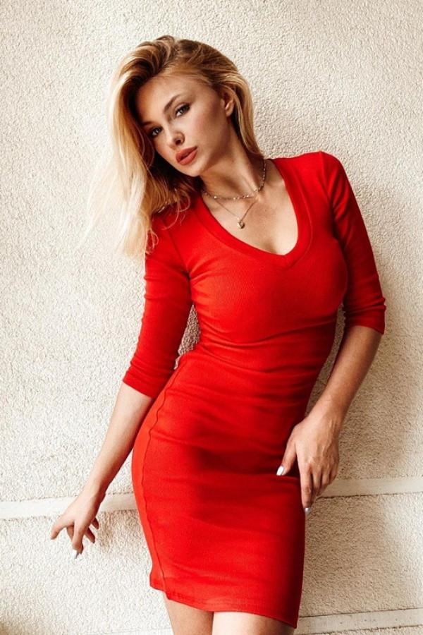 Sukienka TARA red