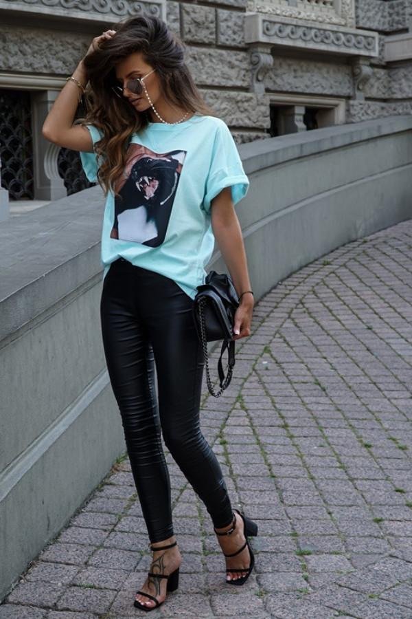 T-shirt CAT mint 3