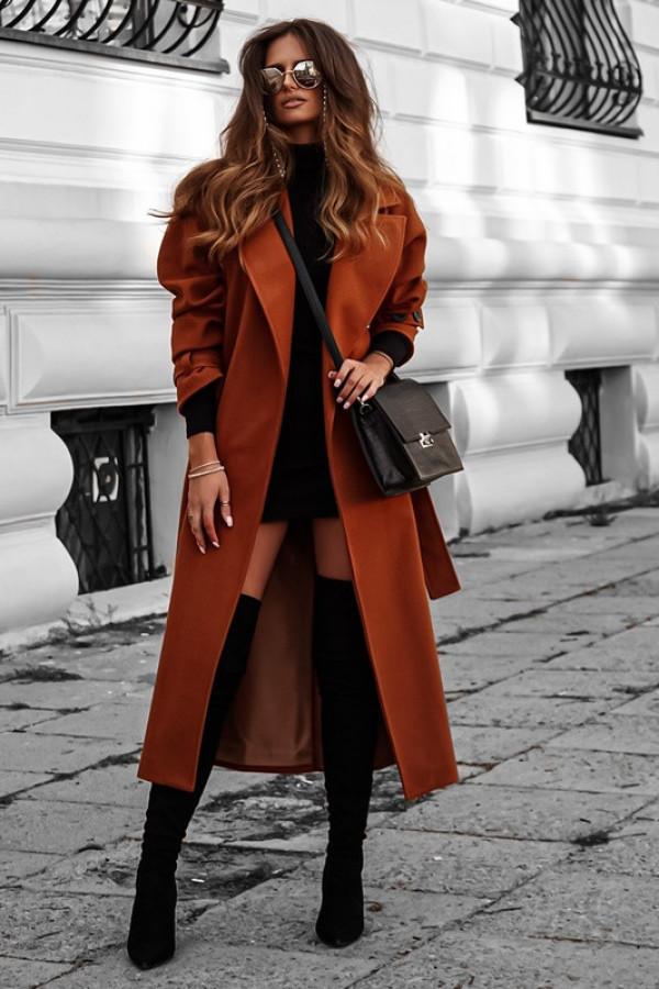 Płaszcz CITY karmel