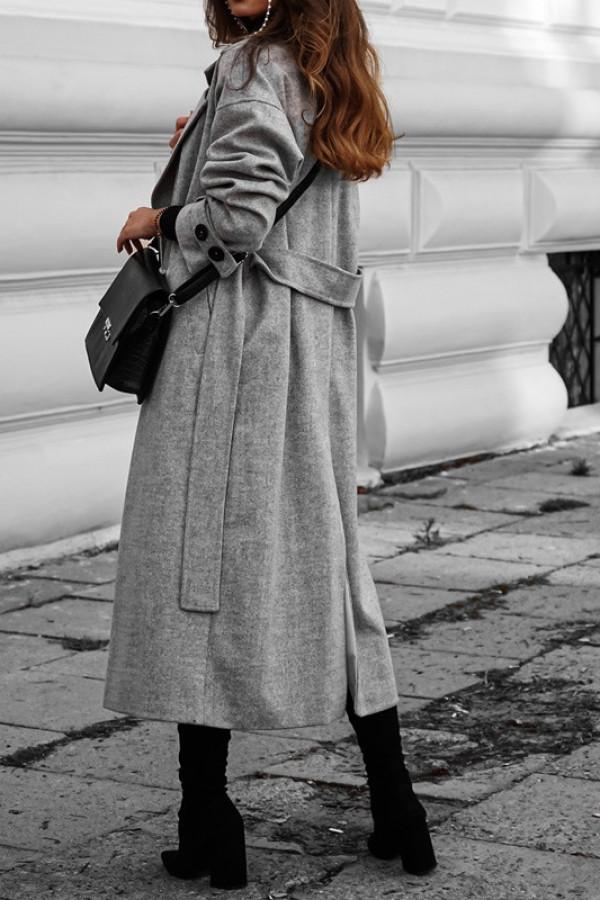 Płaszcz CITY grey 1