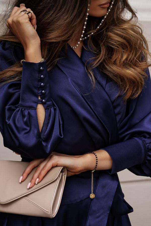 Sukienka CAROLINE navy blue 1