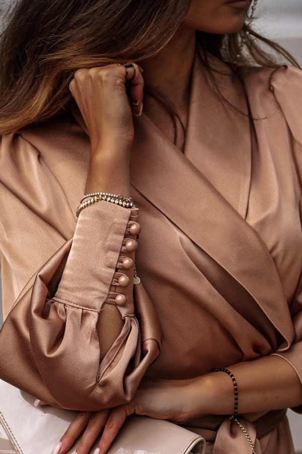 Sukienka CAROLINE beige 1