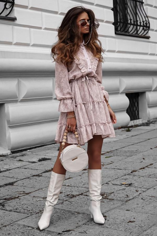 Sukienka LUNA beige
