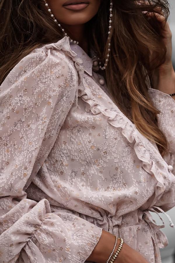 Sukienka LUNA beige 1