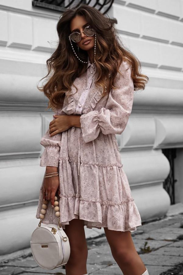 Sukienka LUNA beige 2