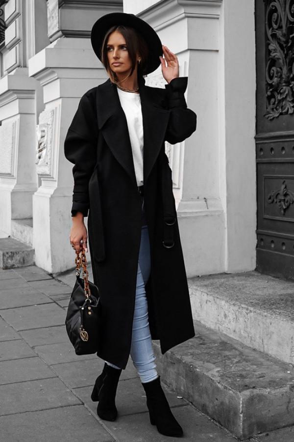 Płaszcz VERSI black