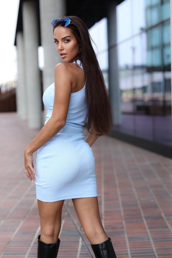 Sukienka LOREN Aqua 2