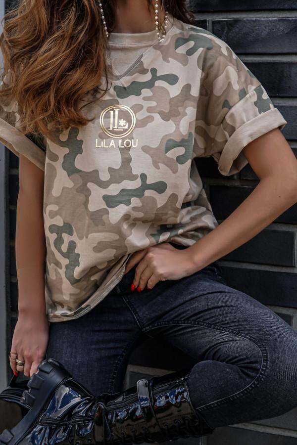 T-shirt MORO GOLDEN LOGO