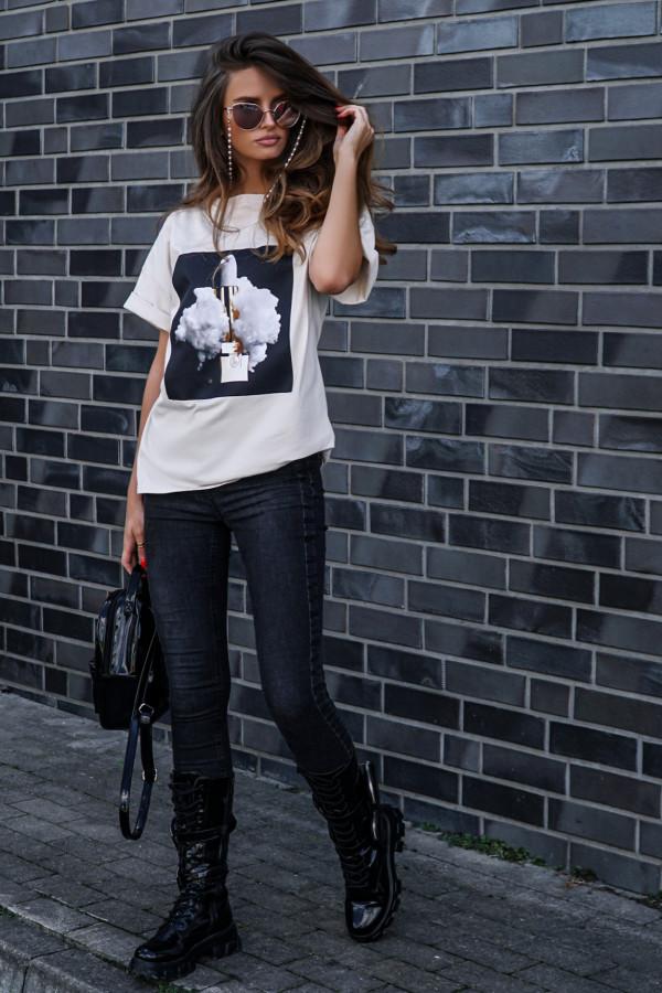 T-shirt LIPSTICK BEIGE 1