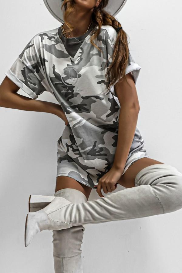 T-shirt MORO SILVER LOGO 1