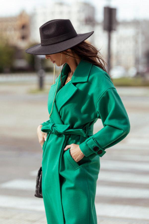 Płaszcz CITY veronese green