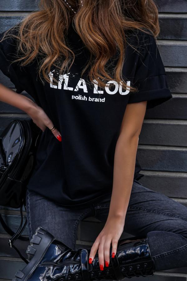 T-shirt logo BASIC Black