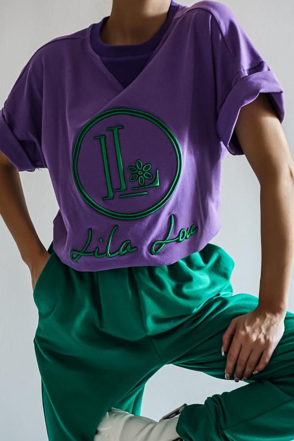 T-shirt LL Violet